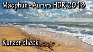 Macphun - Auroa HDR 2018 - kurz mal reingesehen