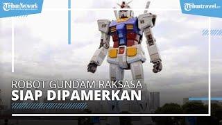 Robot Gundam Raksasa di Jepang Siap Dipamerkan, Bisa Dikunjungi di Akhir Tahun 2020