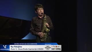 Ryo Nakajima plays Étude 12 – Douze Études Caprices by Eugène BOZZA