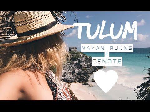 Tulum Mayan Ruins & Cenote Day Tour