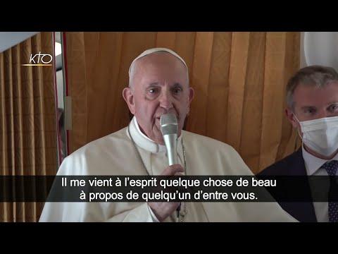 Conférence de presse du voyage du Pape à Budapest et en Slovaquie