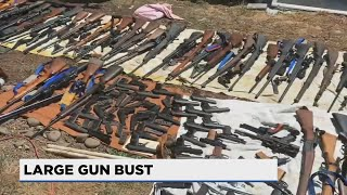 Multnomah County deputies recover 337 guns in agency's largest ever seizure