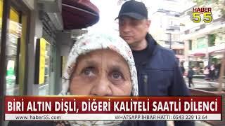 SAMSUN'DA ZABITALARDAN DİLENCİ OPERASYONU