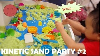 KINETIC SAND PARTY | Part 2 | How to Make Colors Kinetic Sand Colors Underwater Animal by HT BabyTV