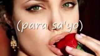 Para sayo-freestyle (feat.anjelina jolie.)