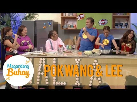 Magandang Buhay: Pokwang And Lee Share What Kind Of Food They Feed To Malia