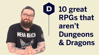 10 great RPGs that aren't Dungeons and Dragons