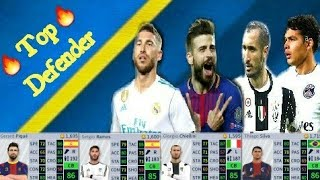 Top class defender in dream League Soccer | Pique,Ramos,Chiellini, Silva,Varane | DREAM GAMEplay