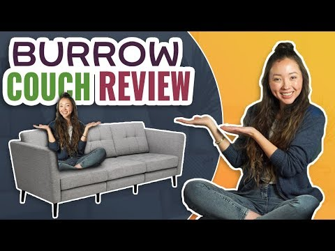 Burrow Couch Review | Best Online Sofa?! (2019 UPDATED)