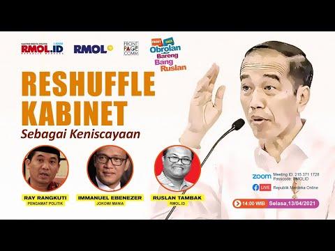 Obrolan Bareng Bang Ruslan • Reshuffle Kabinet