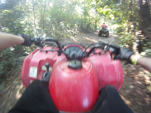 Cozumel Mexico Wild Tours ATV Jungle Tour rides & Snorkeling combo on NCL cruise Caribbean