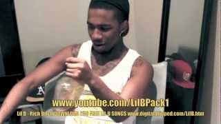 Lil B - Rich Bitch (3D)(HD) (MUSIC VIDEO) COOKS WITH GUN IN 3D