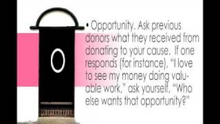 How to ask for donations? DOORR