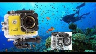 Снимаем видео под водой на экшн камеру