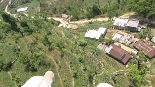 preview picture of video 'Paragliding in Pokhara, Nepal 2014'
