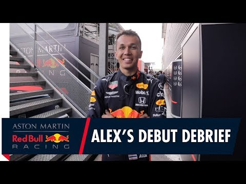 A debut to remember | Alex Albon talks you through his Belgian GP