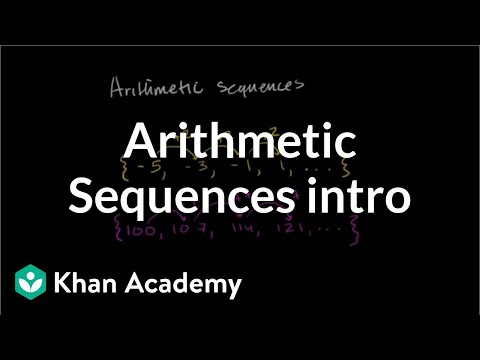 Intro to arithmetic sequences | Algebra (video) | Khan Academy