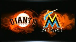 MLB 15 THE SHOW_GIANTS @ MARLINS (2018) GM # 107