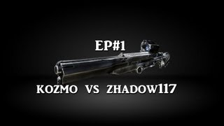 KOZMO VS ZHADOW117 ( SNIPER MATCH ) 1 VS 1 ( EP#1)