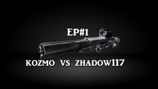 KOZMO VS ZHADOW117 ( SNIPER MATCH ) 1 VS 1 ( EP#1)