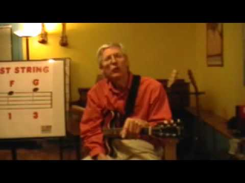 Take a full 30 minute guitar lesson with Stan Munslow (part 1 of 3)