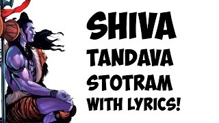 Shiva Tandava Stotram - Lyrics - YouTube