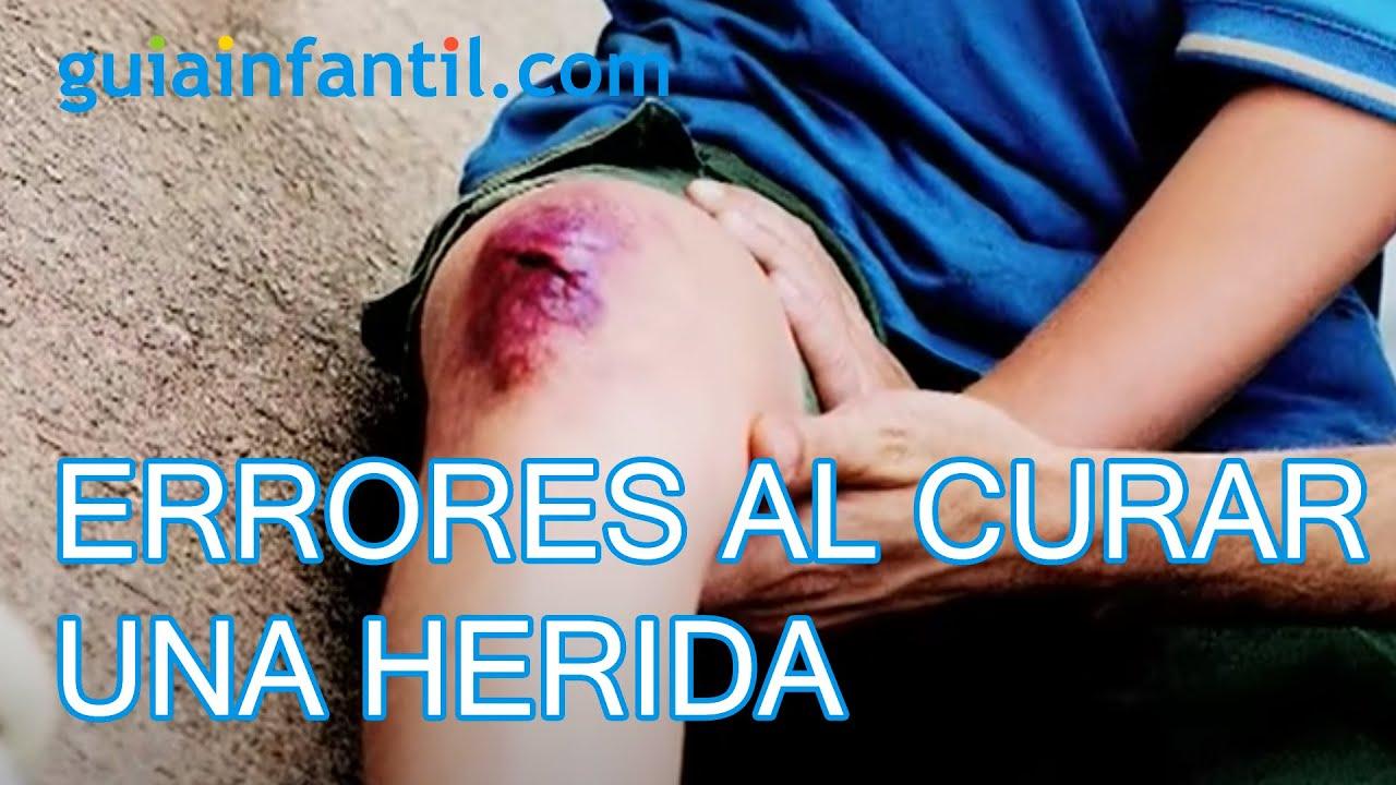 Errores frecuentes al curar una herida