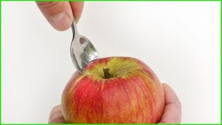 Would you eat an Apple like this? - Food Life Hack - Video Youtube