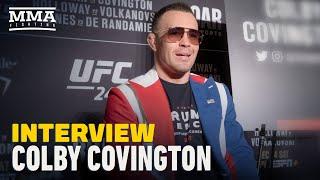 Colby Covington Predicts Kamaru Usman 'Ragdolls' Jorge Masvidal, Eyes Rematch in 2020 - MMA Fighting