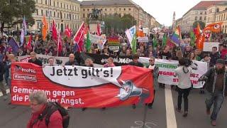 Mehr als 21.000 in München: Gegen Hass und Politik der Angst