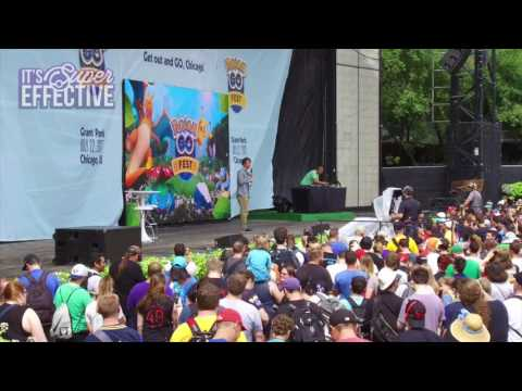 Booing Niantic CEO at Pokémon GO Fest