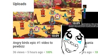 Angry Birds EPIC Humor and laughter Part 6