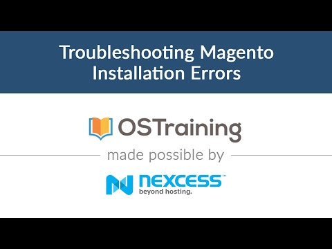 Magento 2 Beginner Class, Lesson #4: Troubleshooting Magento Installation Errors