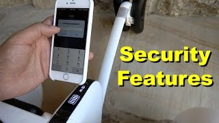 Segway miniPRO and Ninebot mini - Security Features Explained (4K)