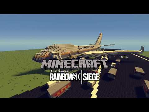 Minecraft Rainbow Six Siege Plane Map Minecraft Project Minecraft Rainbow Six Siege Plane Map