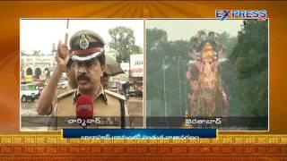 Ganesh Nimajjanam 2016 : Live Updates From Charminar  - Express TV