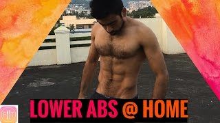 ABS WORKOUT - Workout at Home | Episode 8 - LOWER ABS | 5 min workout by Fit Tuber