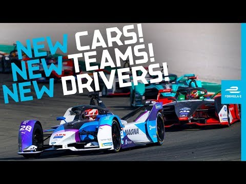 Image: WATCH: Formula E testing - Drivers' first thoughts on season six!