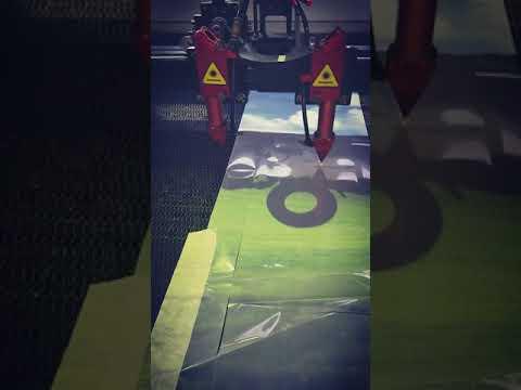 Roll To Roll Fabric Laser Cutting Machine