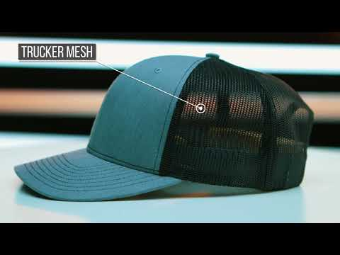 Richardson 112 Twill Mesh Back Trucker Snapback   Final