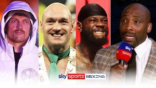 Would Oleksandr Usyk beat Tyson Fury & Deontay Wilder?   Sky Sports pundits share their views