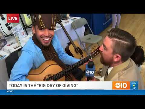 LIVE on Air Guitar Lesson from Michael Sean Miller & SGS on ABC10