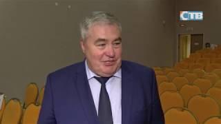 Сосновоборское телевидение: Дмитрий Пуляевский на празднике посвящения в певчие в школе искусств