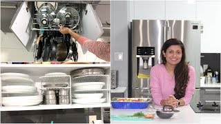 Kitchen Tour Video Episode | Bhavna's Kitchen - Kitchen organizing ideas tips