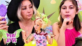 Peri Ayşe. Özge Barbie'ye çirkinleşme sihiri yaptı!