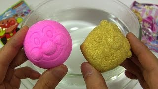 ASMR Bath Bomb Battle Race #121 Japanese Heroes