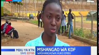 Lady who doesn't know difference between KDF & KWS but went for military recruitment