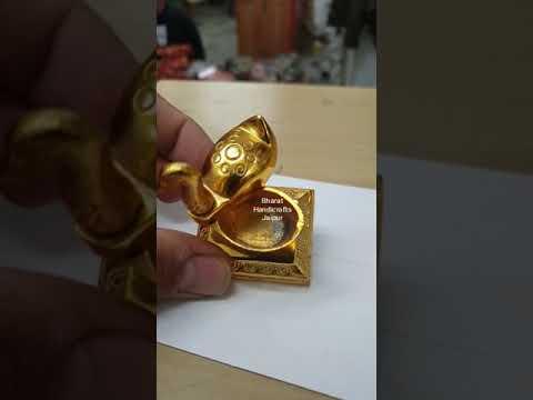 Gold Plated Sindoor Duck