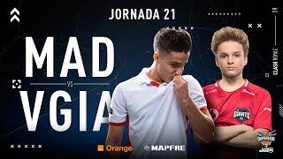 MAD Lions E.C. VS Vodafone Giants | Jornada 21 | Temporada 2018-2019