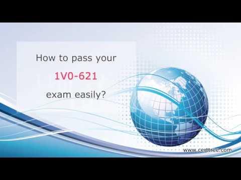 VCA6-DCV certification 1V0-621 exam dumps, VMware 1V0-621 ...